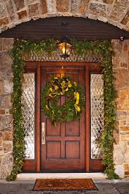 Traditional Home Christmas Decorating Ideas by 176 Best Holiday Front Doors Images On Pinterest Christmas Ideas