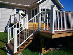 Deck Stair Handrail Height Aluminum Deck Railing Systems Stair U2014 Railing Stairs And Kitchen