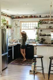 best little kitchen ideas pinterest small chez emily katz intA rieur une hippie moderne