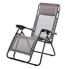 Reclining Patio Chairs 2 Folding Zero Gravity Reclining Lounge Chairs Utility Tray