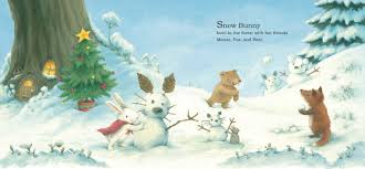 snow bunny u0027s christmas gift book by rebecca harry official