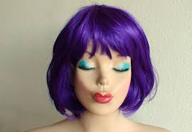 purple bob hairstyles purple hair bob full sew in youtube