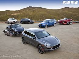porsche cayenne vs bmw x5 2011 bmw x5 m vs 2012 jeep grand srt8 vs 2011 porsche