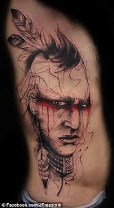 would you let someone ink you permanently freehand mind blowing