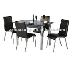 Black Glass Dining Room Sets 4 Seater Glass Dining Table 4 Seater Glass Dining Table Suppliers
