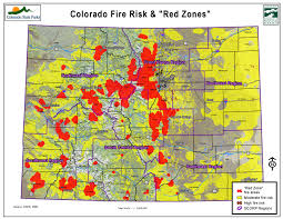 Map Of Oregon Fires by Over 1 Million Colorado Residents Live In High Fire Risk Locations