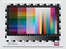 color chart wikipedia