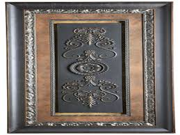 Dining Room Framed Art Metal Gate Wall Art Details About Tuscan Wrought Iron 50