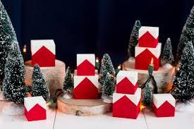 christmas houses diy christmas house blocks lulu the baker