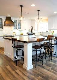 island chairs for kitchen kitchen island chairs recess island bench top to accommodate