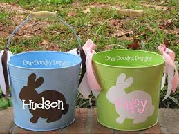 easter buckets 20 best personalized things for maddux images on vinyl