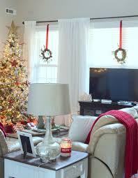 christmas living room farmhouse inspired christmas tree