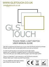 remote control on off light switch black glass frame remote control touch panel light switch on off 1