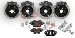 nissan 350z parts for sale czp nissan infiniti akebono big brake kit front u0026 rear 14