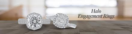 luxury diamonds rings images Halo engagement rings shah luxury jpg