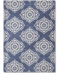 Boho Area Rugs Get The Deal Area Rug Wool Cream And Blue Medallion Boho Boutique
