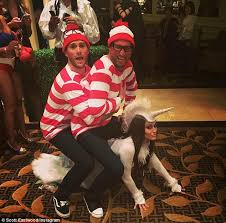 Clint Eastwood Halloween Costume Scott Eastwood Wears Hilarious U0027s Waldo Halloween Costume
