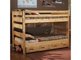 Big Bunk Beds Trendwood Bunkhouse Big Sky Bunk Bed Conlin S Furniture