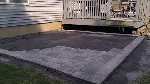 do it yourself paver patio ideas installing brick pavers how to build patio steps brick