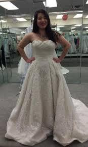where to buy oleg cassini wedding dresses oleg cassini cwg635 750 size 14 un altered wedding dresses