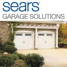 sears garage door installation and repair garage door services