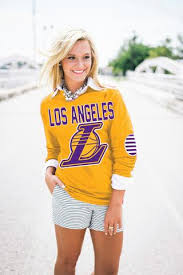 los angeles lakers u2013 gameday couture
