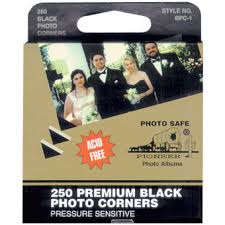 pioneer photo album refills pioneer black photo corners bpc 1 album refills product
