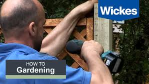 how to fix trellis onto a fence panel with wickes youtube