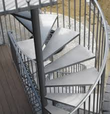 exterior metal spiral staircase enhance your deck with an outdoor