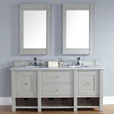 trendy gray bathroom vanities for any style bathroom