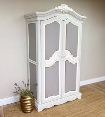 French Provincial Armoire Chic Large Armoire Closets Roselawnlutheran