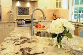 Granite Countertops For White Kitchen Cabinets Interior Marvellous Kitchen Design With Kitchen Island With Sink