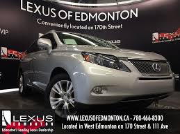 used silver 2010 lexus rx 450h hybrid review calgary alberta
