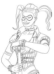 exclusive harley quinn coloring pages from the lego batman movie
