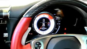 lexus lfa steering wheel lexus lfa throttle response youtube