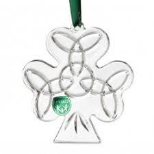 emerald 3 5 shamrock ornament handmade in