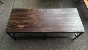 Vittsjo Coffee Table by Wood Vittsjo Industrial Media Console Ikea Hackers Ikea Hackers