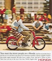 the unmistakable charm of early honda marketing motorcycledaily