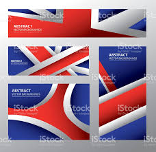 abstract united kingdom flag english colors stock vector art