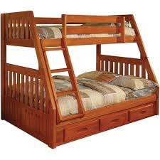 Solid Pine Bunk Beds Solid Pine Bunk Bed With Drawers Free Shipping