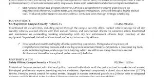 security guard responsibilities resume security guard resume