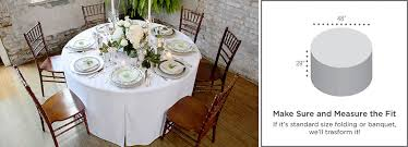 what size tablecloth for 48 round table fitted round table covers 48 inch round