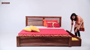 bedroom queen spindle bed reclaimed wood bed frame wood