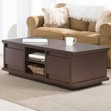 coffee table magnificent storage ottoman coffee table espresso