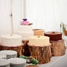 tree stump cake stand tree trunk cake stand cake buffet barn party