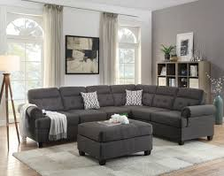 plush sectional sofas sofa appealing ac pacific donovan taupe sectional sofa