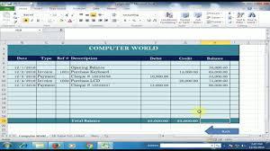 Farm Accounting Spreadsheet Excel Ledger Template Virtren Com