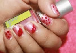 dual shade nail polish review and nail art chamki makeup review