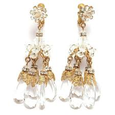 and pearl chandelier chandelier earrings costume jewelry diamond and pearl chandelier