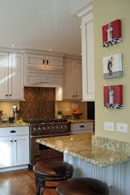 kitchen beautiful kitchen decoration ideas using tile sunflower